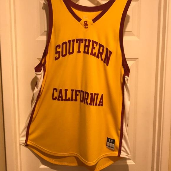 the best attitude 112db 84476 USC Trojans basketball jersey